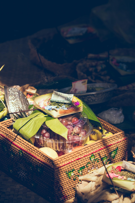 Quels aliments doit contenir le coffret gourmand 1